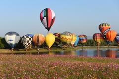 Singha公园国际气球节日 库存图片