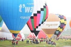 Singha公园国际气球节日 图库摄影