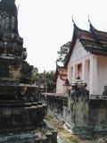 Singha寺庙, Patumthani,泰国 免版税库存照片