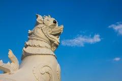 Singha泰国样式狮子 库存图片