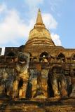 Singha en pagode Stock Afbeeldingen