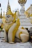 Singha istoty mit i legenda Shwedagon P Zdjęcie Royalty Free