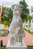 Singha, Lion Statue at the temple in northern Thailand. Stock Images