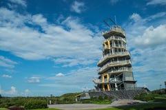 Ziplines Tower. Singh Park Chian Rai, Thailand Royalty Free Stock Photography
