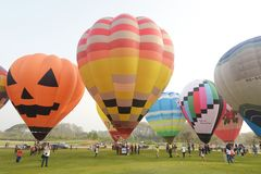 Singha Park International Balloon Fiesta Royalty Free Stock Photos