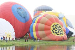 Singha Park International Balloon Fiesta Royalty Free Stock Photography