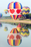 Singha-Park-internationale Ballon-Fiesta, Thailand Stockbilder