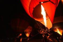 Singha-Park-internationale Ballon-Fiesta, Thailand Lizenzfreie Stockfotografie