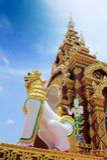 Singha. Stands in front of Wat Lampang Klang temple, Lampang Thailand Royalty Free Stock Photos