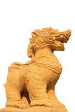 Singha statue. Singha is animal in Hindu mythology. Singha mythical creatures Can be divided Into two main types are lion and lion mix. Beasts are creatures with stock images