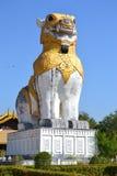 Singha statue Royalty Free Stock Photo