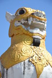 Singha statue Royalty Free Stock Photography
