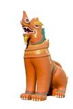 Singha (statue de lion) Images libres de droits