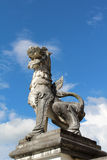 Singha statue. Royalty Free Stock Photos