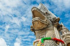 Singha statue at Wat Prathat Lampang Luang Temple, Lampang, Thailand Royalty Free Stock Images