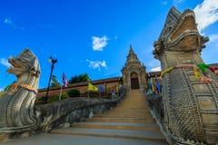 Singha statue at Wat Prathat Lampang Luang Temple, Lampang, Thailand Royalty Free Stock Photography