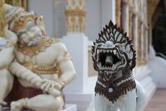 Singha staty Royaltyfri Fotografi