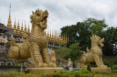 Singha staty i Thailand Royaltyfria Foton