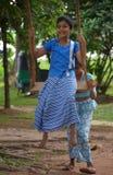Singhalesische und Tamil-neues Jahr-Feiern Stockbild