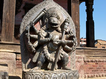 Singhini sculpture - a lioness goddess in Bhaktapur Stock Image