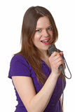Singing Royalty Free Stock Image