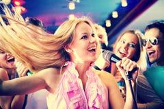 singing stock fotografie