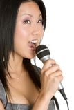 Singing Asian Woman Stock Image