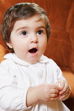 Singing baby Stock Image