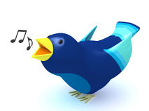 Singing bird Stock Photo