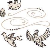 Singing birds Royalty Free Stock Images