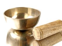 Singing bowl Royalty Free Stock Photography