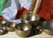 Singing bowl Royalty Free Stock Photography