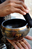 Singing bowl Stock Images