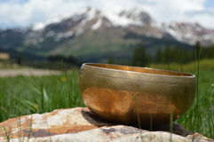 Singing Bowl Royalty Free Stock Photos