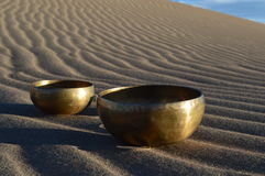 Singing Bowl Stock Image
