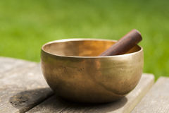 Singing bowl Stock Photos