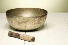 Singing bowl Royalty Free Stock Photo