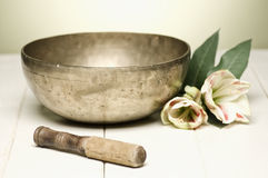 Singing bowl Royalty Free Stock Images