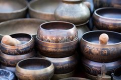 Singing Bowls (Cups Of Life) Stock Images