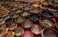 Singing bowls Royalty Free Stock Photos