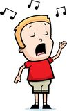 Singing Boy Stock Image
