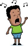 Singing Boy Royalty Free Stock Photo