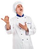 Singing chef Stock Image
