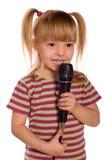 Singing child Royalty Free Stock Photo