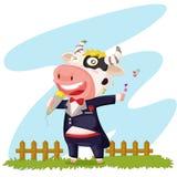Singing cow Stock Photos