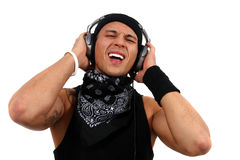 Singing Dj Stock Photography