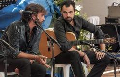Singing flamenco Royalty Free Stock Photos