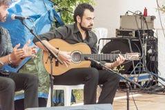 Singing flamenco Royalty Free Stock Images