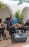 Singing flamenco Stock Images