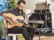 Singing flamenco Stock Image